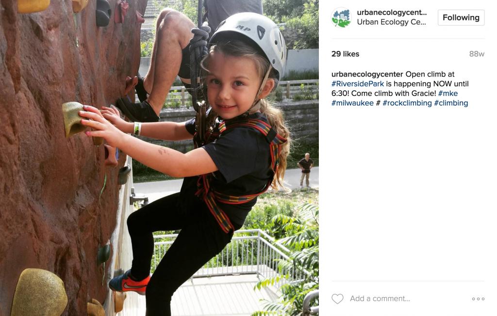 Urban Ecology Center Instagram Post