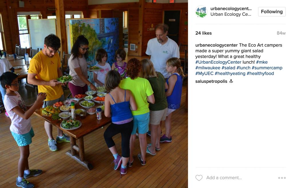Urban Ecology Center Instagram