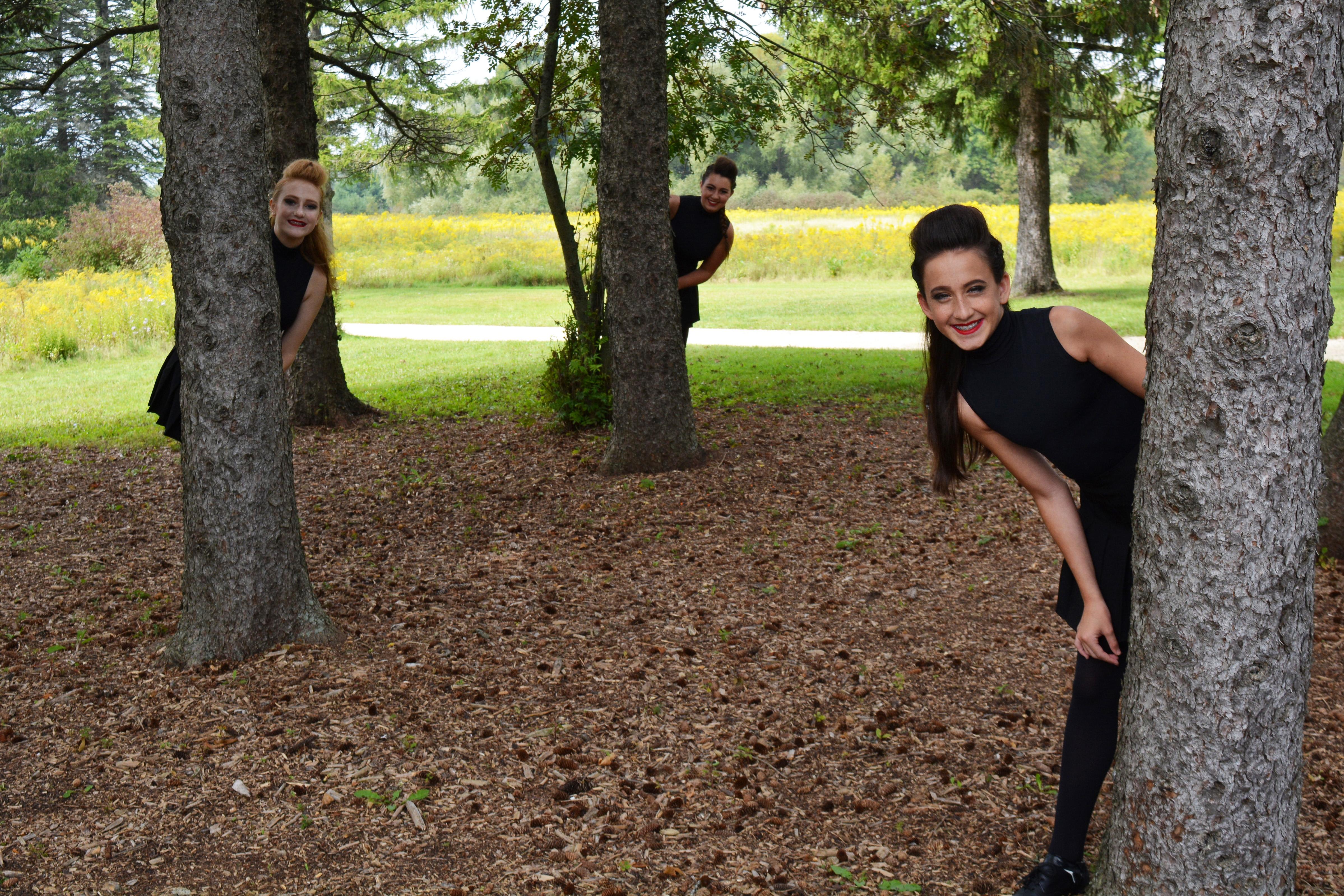 Irish Dancers in the Trees