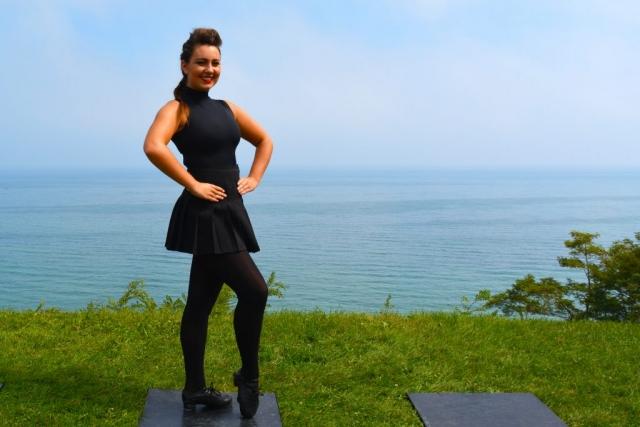 Irish Dancer Pose