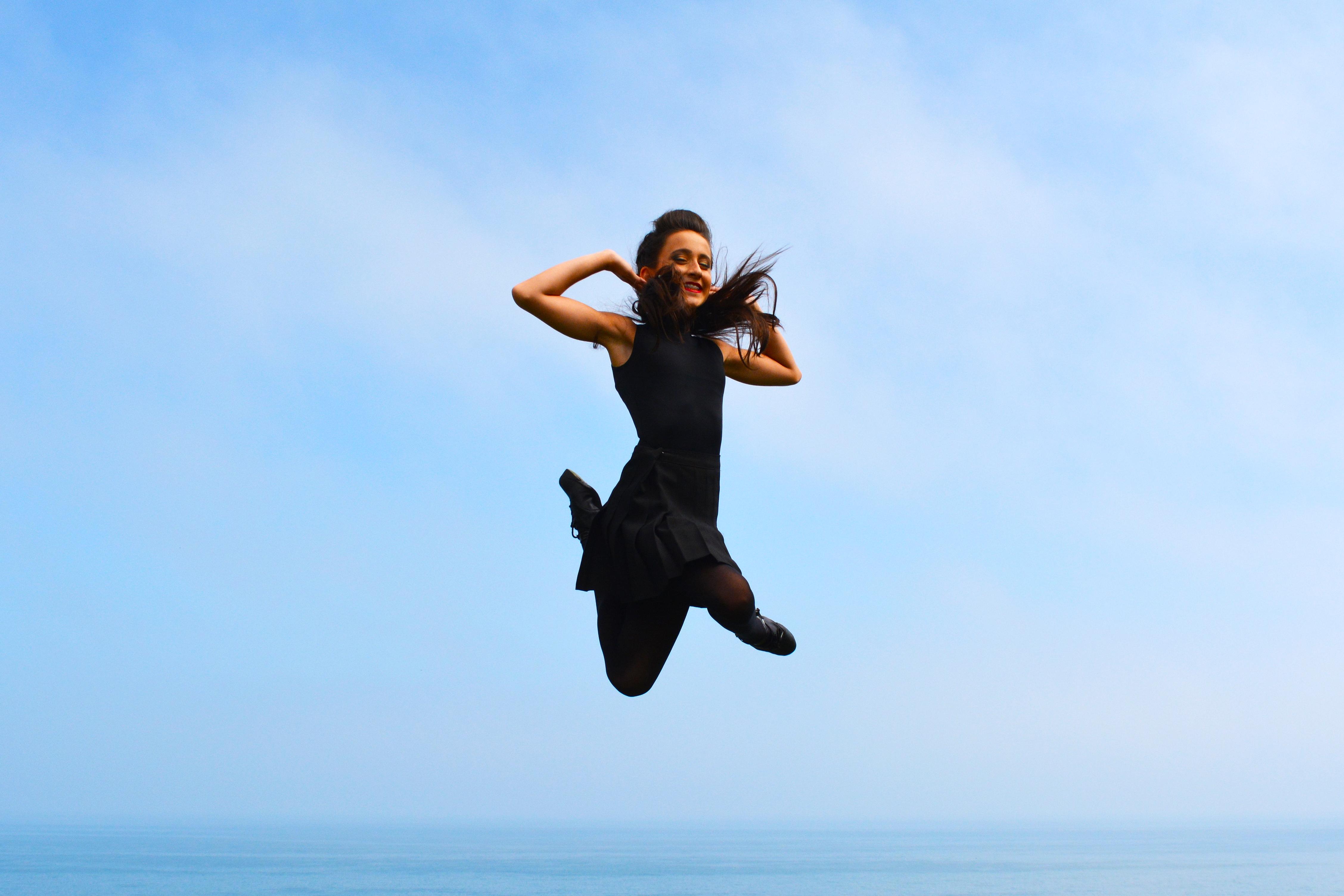Irish Dancer Jump