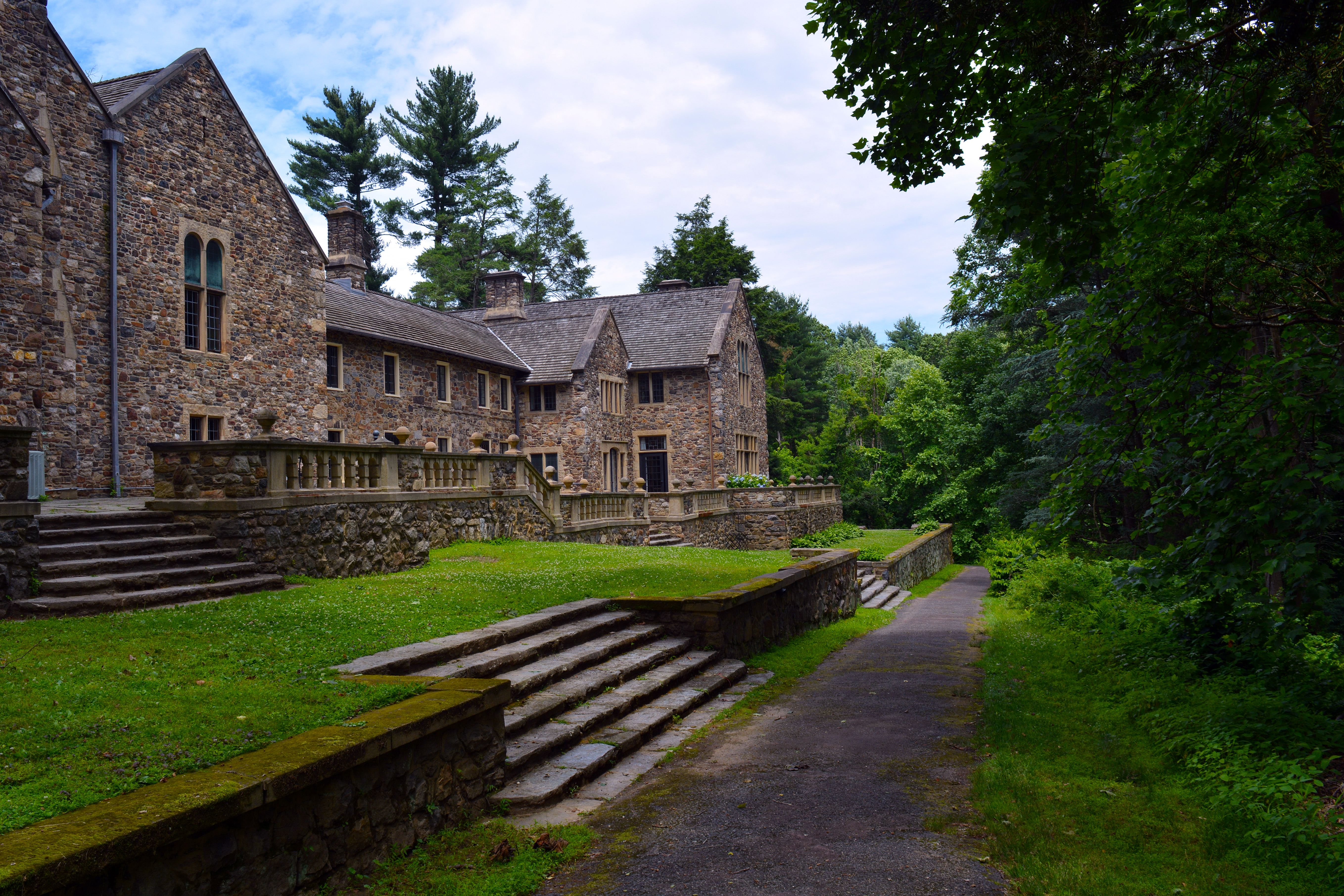 Mansion in Ridley Creek State Park