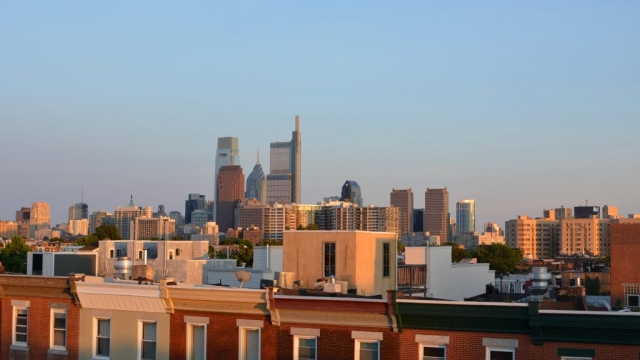 Philadelphia Skyline as seen from Brewerytown