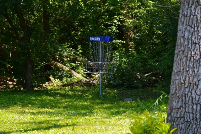 Disc Golf Hole in Estabrook Park