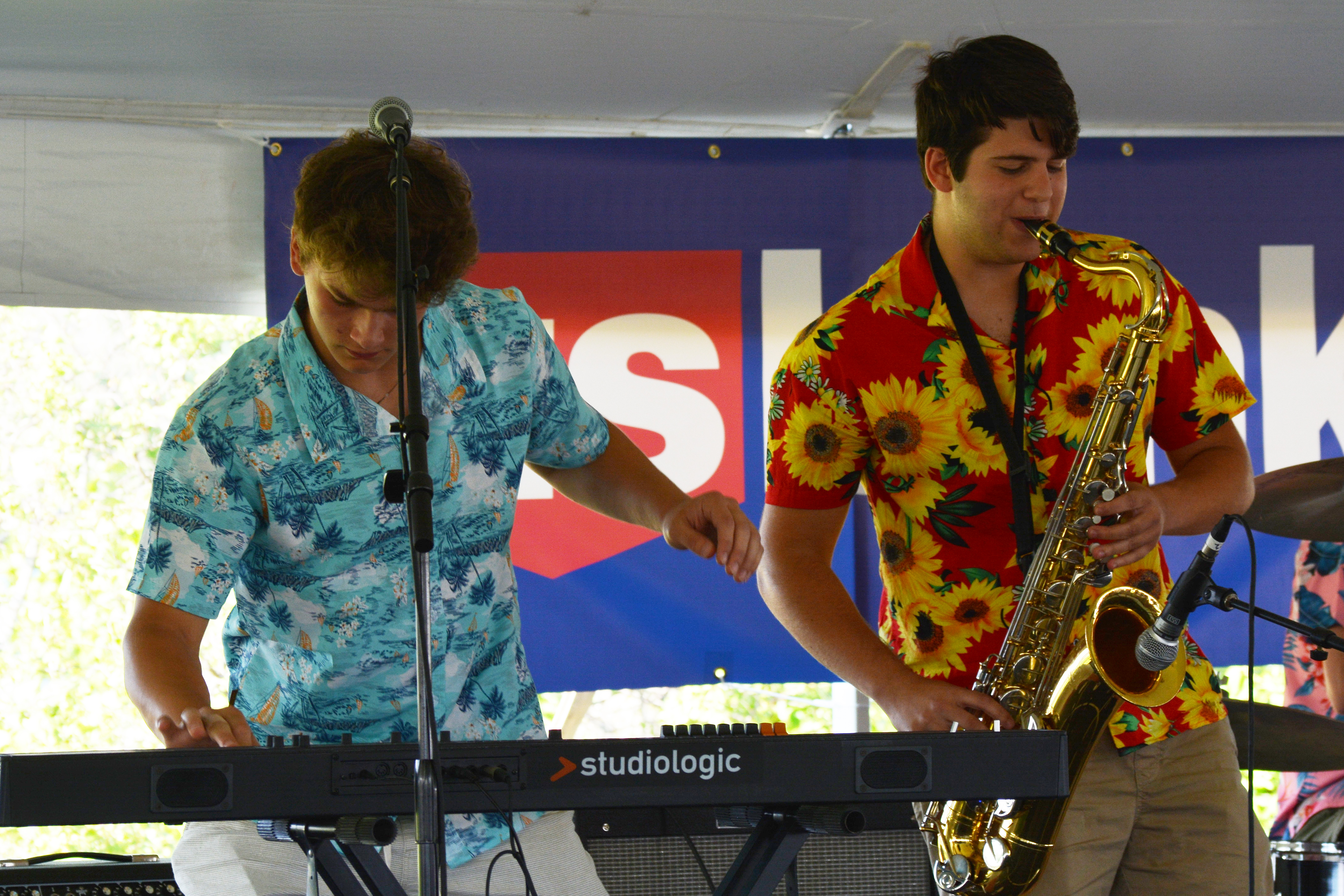 The Madcap Quartet Keyboard and Saxophone